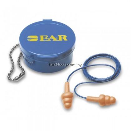 3m E.A.R 340-4002  Reusable Earplugs - Corded c/w carrying case(1x50pcs)