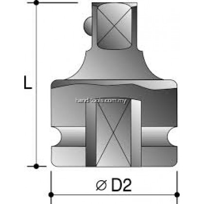 """ACTION 3/4"""" Female x 1"""" Male Impact Adapters"""