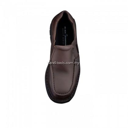 BLACK HAMMER BH4671 Men Safety Shoes Low Cut Mocassin Slip On