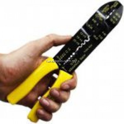 CRIMPING PLIERS 9 inches/230MM Cuts electrical wires, strips insulation,shears screws and bolts