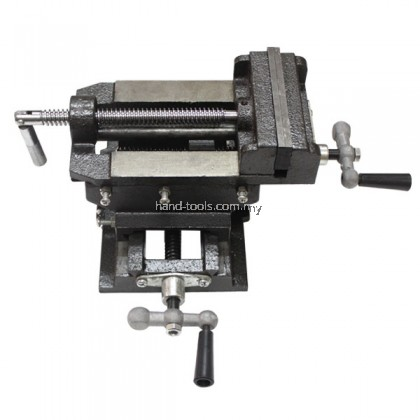 """4""""/100MM TWO WAY CROSS SLIDE VISE Use for a firm hold on your metal fabricating or woodworking"""