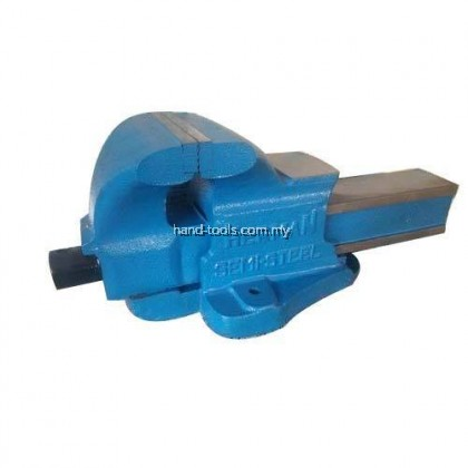 """150MM/6"""" BENCH VISE Double Ribbed with large Anvil & Malleable cast nut"""