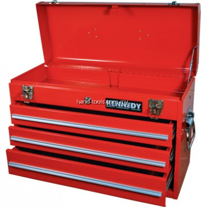 KEN5940120K 3-DRAWER TOOL CHEST  Tool Chest, 3 Drawer, Red