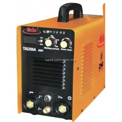 Mello TIG250A (IGBT)  TIG Welding Machine 6.5kVA 10-215Amp