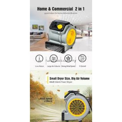 VACMASTER AM1202 COMMERCIAL GRADE 124W AIR MOVER