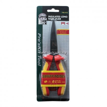proskit PM-918 Insulated Long Nose Plier(200mm)