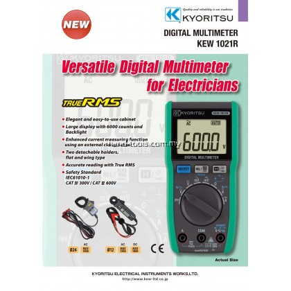 Kyoritsu 1021R Digital Multimeter